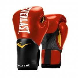 Guantes prostyle elite training EVERLAST rojo