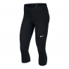 NIKE W NK PWR VCTRY CROP BLACK/WHITE