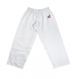Pantalon karate training blanco FUJIMAE