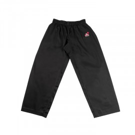 Pantalon karate training negro FUJIMAE